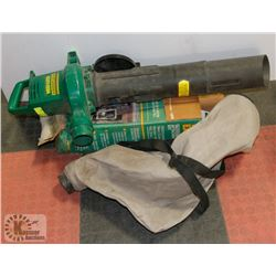 WEEDEATER BLOWER 2540 WITH WEEDEATER VACUUM