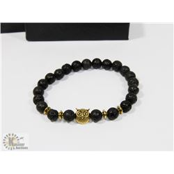 NEW LAVA ROCK BRACELET