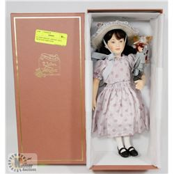 R. JOHN WRIGHT ABIGAIL DOLL WITH DOCUMENTATION.