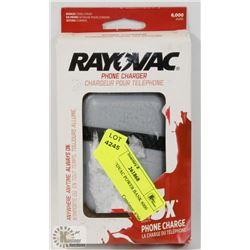 NEW RAYOVAC POWER BANK 6000 MAH