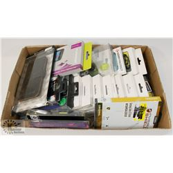FLAT OF ASSORTED SAMSUNG CELL PHONE CASES