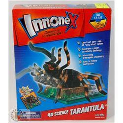 NEW INNONEX 4D SCIENCE TARANTULA 25+PC KIT