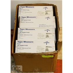 CASE OF MEDLINE TAPE MEASURE PAPER