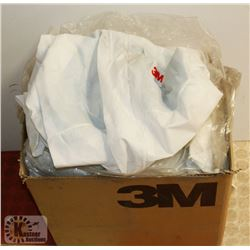 CASE OF 3M LG DISPOSABLE COVERALLS