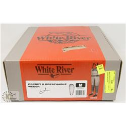 WHITE RIVER OSPREY II SIZE M FISHING WADERS