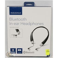 NEW INSIGNIA IN EAR NECKBAND HEADSET