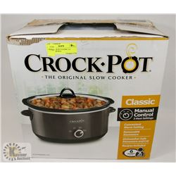 NEW CROCK POT CLASSIC 5.6 SERVES 7 PEOPLE