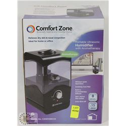 NEW COMFORT ZONE PORT ULTRASONIC HUMIDIFIER