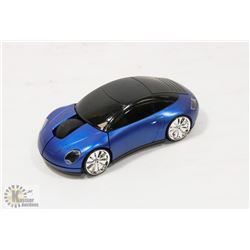 NEW BLUE CAR WIRELESS MOUSE