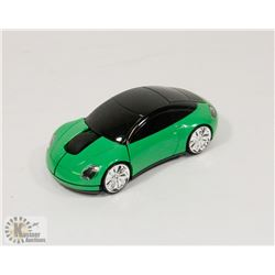 NEW GREEN CAR WIRELESS MOUSE