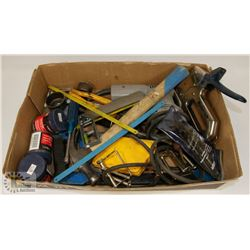 ESTATE LOT OF TOOLS INCLUDES MASTERCRAFT STAPLER &