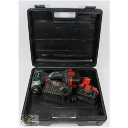 BOSCH DRILL 12V IMPACTOR DRILL WITH BATTERY AND