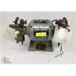 "DELTA 23-681 6"" BENCH GRINDER-NO WALL PLUG"