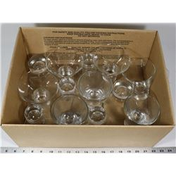 16 COCKTAIL / BAR GLASSES