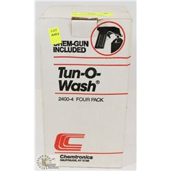3 BOTTLES OF CHEMTRONIC TUN-O-WASH DEGREASES &