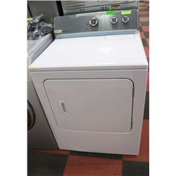 MAYTAG TOPLOAD DRYER