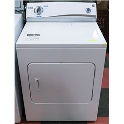 "KENMORE TOPLOAD DRYER 29""X25.5""X36""."