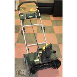 ELECTRIC SNOW BLOWER, RUNS WELL. USED LAST WINTER,