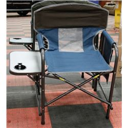 NEW! DIRECTOR CHAIR WITH SIDE TABLE