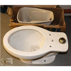 LOT OF TWO TOILET BOWLS (NO TANKS)