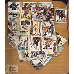 LOT OF OILERS HOCKEY CARDS INC RYAN SMITH