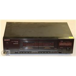 VINTAGE SONY DOUBLE STEREO CASSETTE DECK