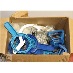 BOX OF MIXED FRIDGE FILTERS/ COOLER THERMOSTATS