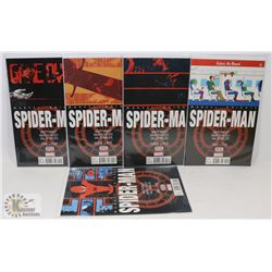 COMPLETE LTD SERIES --- SPIDER-MAN COMICS