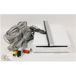 NINTENDO WII CONSOLE WITH POWER CABLE,
