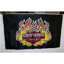 HARLEY DAVIDSON FLAG (3' X 5')