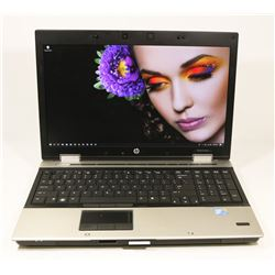 "15.6"" HP ELITEBOOK 8540P iNTEL i5/ WIN 10 PRO/SSD"