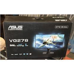 NEW ASUS 27  WIDE SCREEN GAMING MONITOR