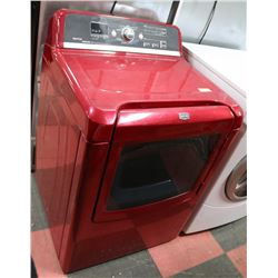 MAYTAG RED TOPLOAD DRYER