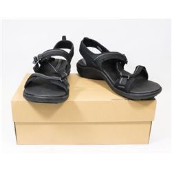 SOLE SANDLES BLACK