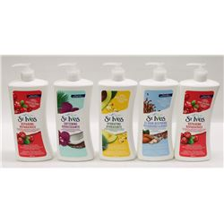 BAG OF ST. IVES BODY LOTION