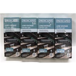 SET OF 4 NEW PROSCAPES DECK LIGHTS