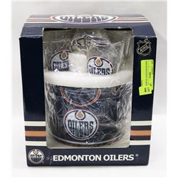 NEW OILERS PUB SET ICE BUCKET