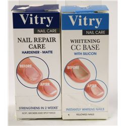 LOT OF 2 VITRY NAIL REPAIR CARE