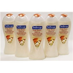 BAG OF 5 SOFTSOAP BODY BUTTER