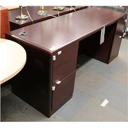 NEW CHERRYWOOD STYLE OFFICE DESK