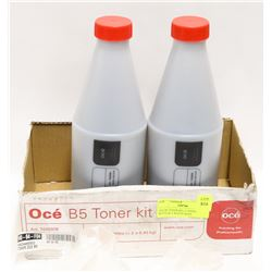 OCE B5 TONER KIT, 2 TONER BOTTLES, 2 WASTE BAGS