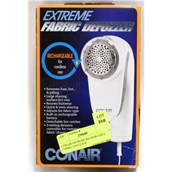 CONAIR EXTREME RECHARGABLE FABRIC DEFUZZER