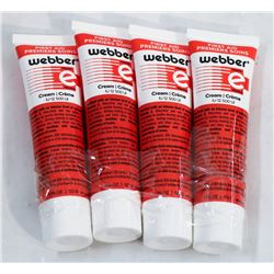LOT OF 4 WEBBER FIRST AID CREAM