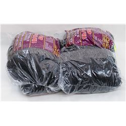 TWO 1LB BAGS OF YARN