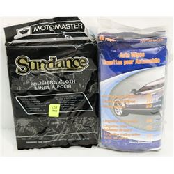 PACK OF ALL PURPOSE WIPES W/POLISHING CLOTHS