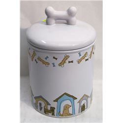 NEW CERAMIC BISCUIT CANNISTER