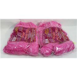 TWO 1LB BAGS OF YARN