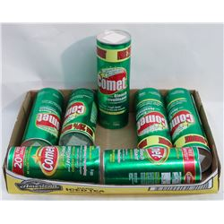 7 CANS OF COMET CLEANER