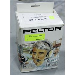 PELTOR HEADSET, LISTEN ONLY