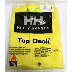 HELLY HANSEN FLAME RETARDANT RAIN JACKET SIZE 2XL